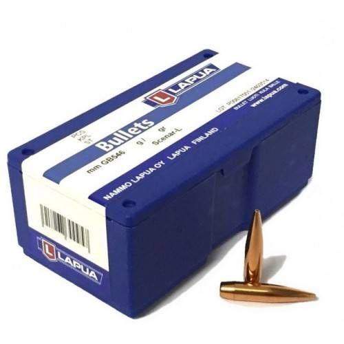LAPUA PALLE CAL 6,5mm SCENAR L 120grs OTM *Conf. da 100pz*
