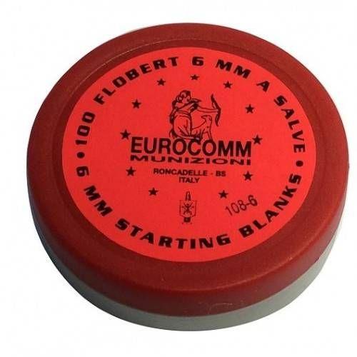 EUROCOMM CARTUCCE START 6mm A SALVE PER ARMI BLANK 1.4S *Conf. da 100pz* (@)