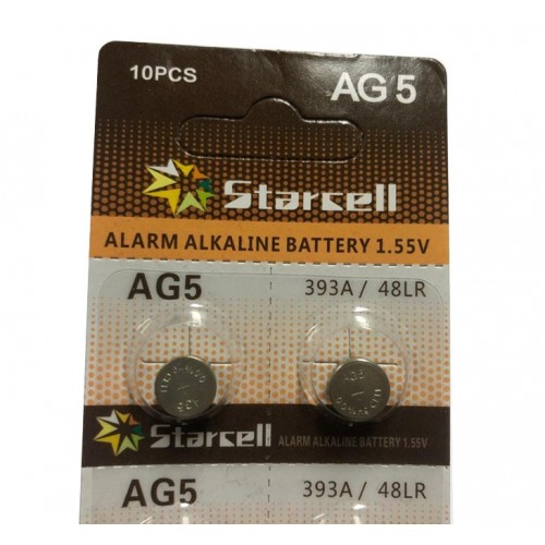 STARCELL BATTERIA AG5 393A /48LR *1 pezzo*