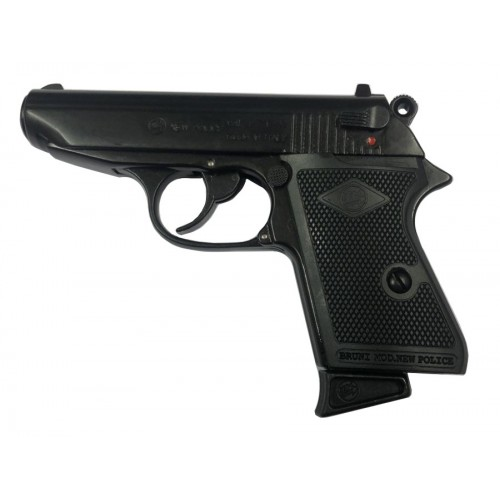 BRUNI PISTOLA A SALVE TIPO WALTHER PPK 8mm (@)
