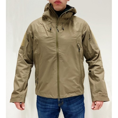 4-14 GIACCA RAINWEAR JACKET RJ001 COYOTE TAN