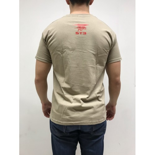 DEATH HOUSE T-SHIRT PUNISHER TAN