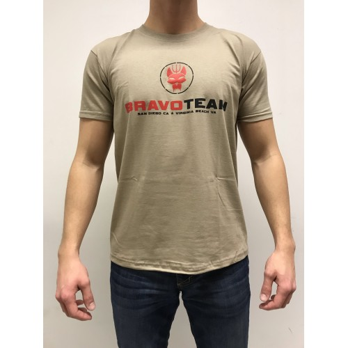 DEATH HOUSE T-SHIRT BRAVO TEAM TAN