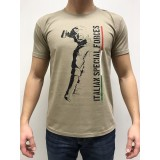 DEATH HOUSE T-SHIRT ITALIAN SPECIAL FORCE TAN