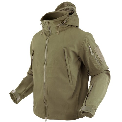 CONDOR SOFT SHELL JACKET COYOTE TAN