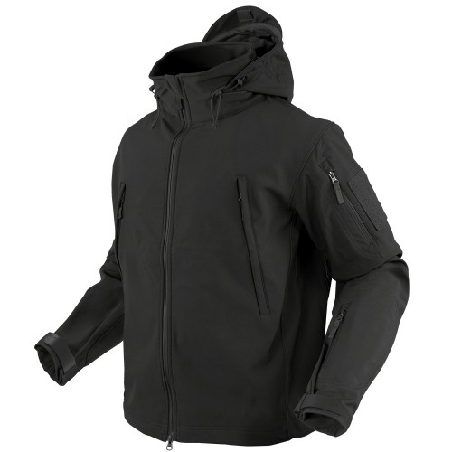 CONDOR SOFT SHELL JACKET BLACK
