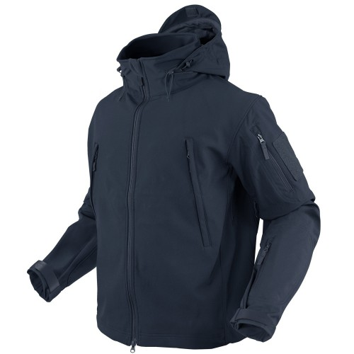CONDOR SOFT SHELL JACKET BLU NAVY
