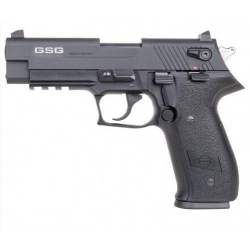 """GERMAN SPORT GUNS PISTOLA GSG FIREFLY 4"""" CAL .22LR NERA"""