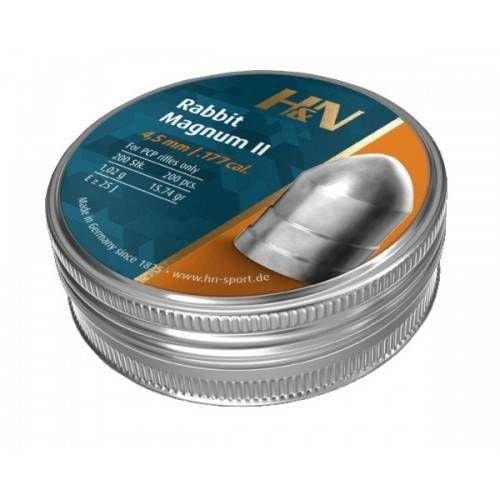 H&N DIABOLO RABBIT MAGNUM II 4.5mm 1.02g *Conf. da 200pz*