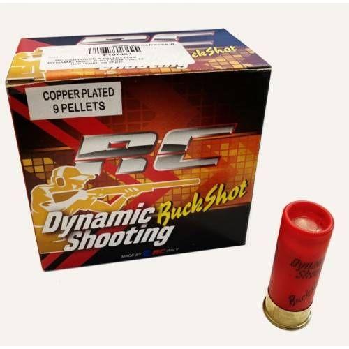 RC CARTUCCE A PALLETTONI DYNAMIC BUCK SHOT RAM CAL.12 10/0 *Conf. da 25pz*