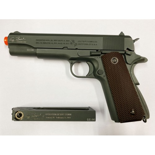 CYBERGUN PISTOLA SOFTAIR COLT 1911 THE GULF WAR CO2 LIMITED EDITION