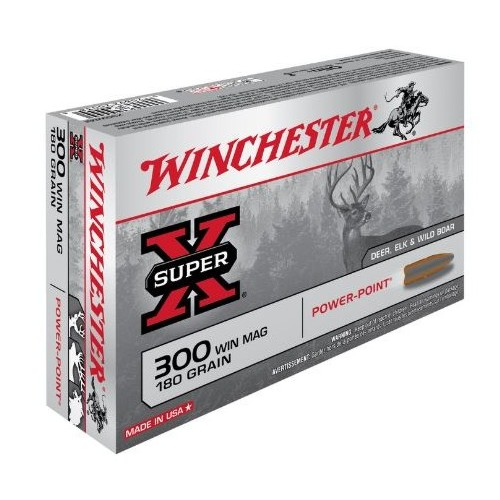 WINCHESTER CARTUCCE POWER POINT CAL. 300 WIN MAG180grs *Conf. da 20pz* (@)