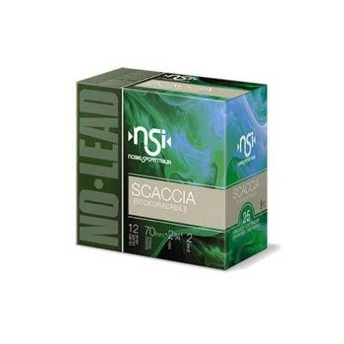 NOBEL SPORT NSI CARTUCCE SPECIALE SCACCIA CAL. 12 *Conf. da 25pz*
