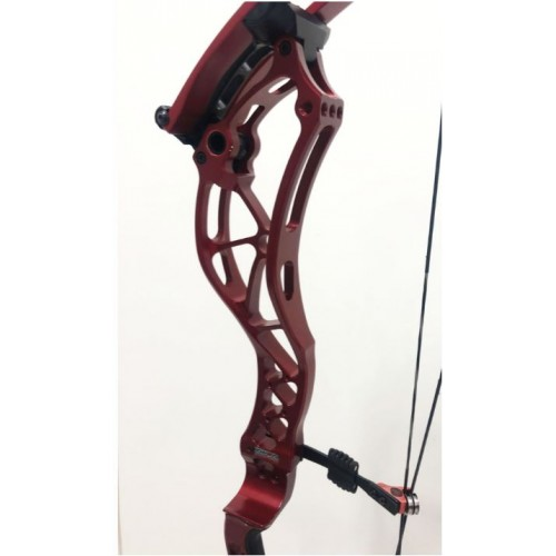 *USATO* COMPOUND BOWTECH RECKONING 35 40-50 ROSSO RH