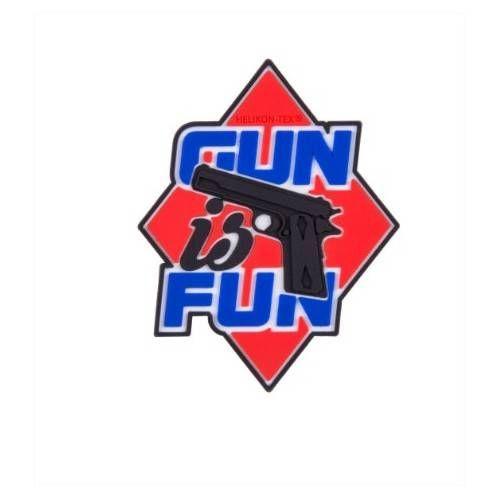"""HELIKON TEX PATCH """"GUN IS FUN"""""""