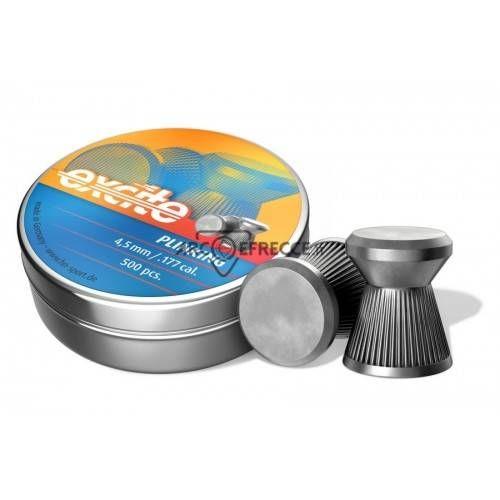 H&N DIABOLO EXCITE PLINKING TESTA PIATTA 4,5mm *Conf. 500pz*