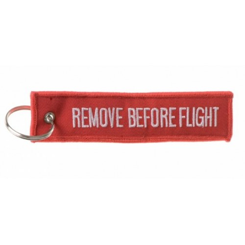 "SBB PORTACHIAVI ""REMOVE BEFORE FLIGHT"""