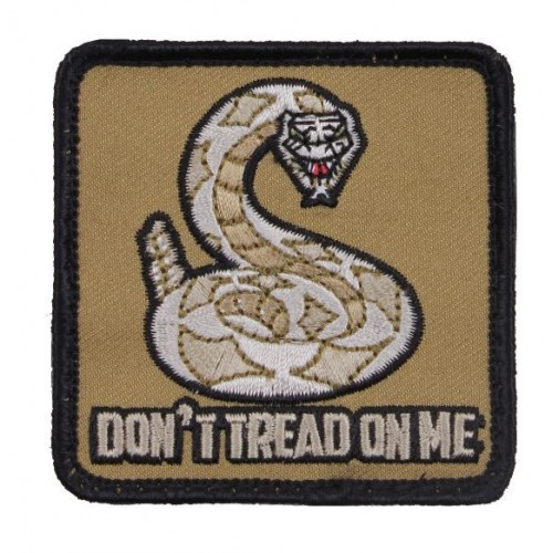 USA PATCH DON'T TREAD ON ME