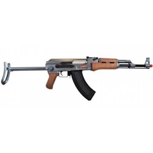 CYMA FUCILE SOFTAIR ELETTRICO AK47S con CALCIO A STAMPELLA
