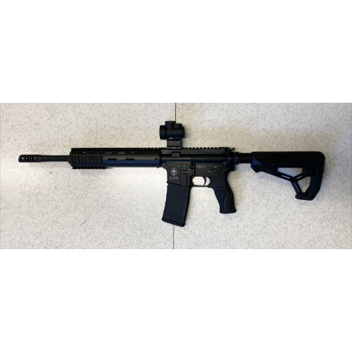 """*KIT OFFERTA* ADC DALLERA CARABINA M5 CARBO SPECIAL FORCE 14,5"""" + LEUPOLD RED DOT FREEDOM-RDS 1X34mm"""