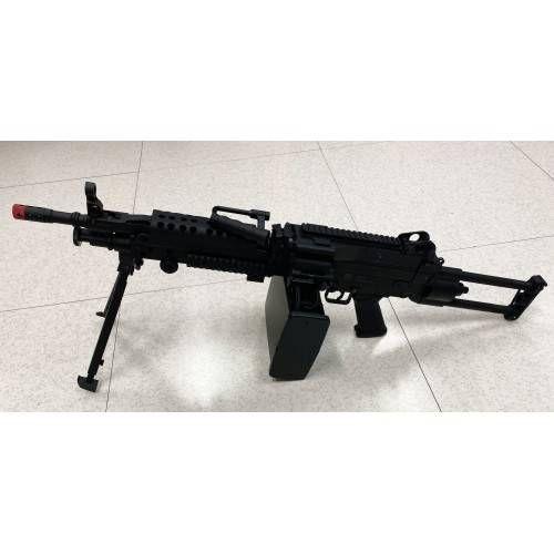*USATO* FUCILE SOFT MITRAGLIATRICE LEGGERA M249 PARA