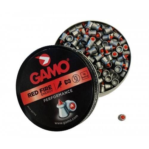 GAMO DIABOLO RED FIRE Cal. 5.5mm 1gr *Conf. 100pz*