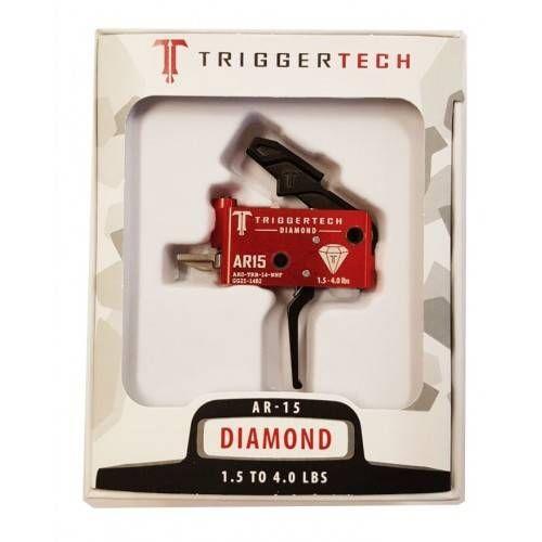TRIGGERTECH GRUPPO SCATTO PER AR15 DIAMOND FLAT BLACK