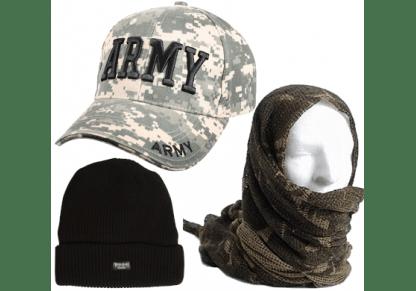 Cappelli, berretti, sciarpe
