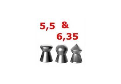 Diabolo cal. 5,5 e 6,35